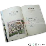 Impression de livre de dos de papier d'imprimerie de brochure d'impression de livret explicatif d'impression de catalogue