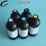 LED de cores vivas de jacto de tinta da impressora plana UV para impressão em caso de Telefone