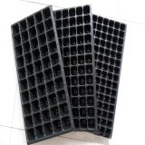 Bandeja de mudas de plástico da bandeja de viveiro PS Acessórios com efeito de estufa na bandeja de Sementes