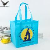 Commercio all'ingrosso non tessuto a buon mercato laminato promozionale su ordinazione del sacchetto