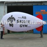 Modèle gonflable à l'hélium Model Airplane PVC Blimp for Sale