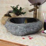 Divisão natural lavatório em granito
