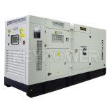 250kVA深海のコントローラが付いている防音のディーゼル発電機セット50Hz