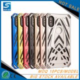 熱い販売の二重層のiPhone Xのケースのための保護携帯電話の箱