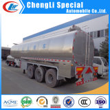 3 asse Stainless Steel 45000L 30ton Milk Delivery Tank Truck Trailer da vendere