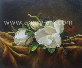 꽃 화포 예술이 Handmade 꽃 유화에 의하여 기지개했다