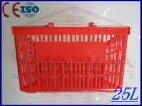 Supermarket From蘇州Yuanda (YD-B2)のための赤いPlastic Shopping Baskets