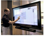 Matériel debout d'aéroport d'écran d'étage d'intérieur de Remoto de contrôle de 55 pouces annonçant l'étalage d'écran tactile