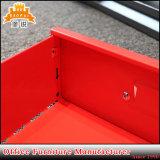 Vertical de último diseño armario cajón de acero de 6 capas