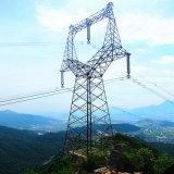 10kv-1100kv de transmissão de energia elétrica de ângulo de torre de transmissão de Aço Galvanizado