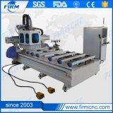 Máquina de madeira do router do CNC do ATC da auto mudança linear da ferramenta
