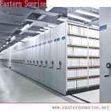 Bibliothèque de qualité de l'acier compact en acier mobile compact de rayonnages pour archives