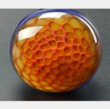 Blaues GlasHuka-Bienenwabe-Entwurfs-Filter-Wiederanlauf-Gefäß