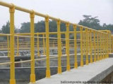 Barandilla de FRP/material de construcción/escala/cerca/barandilla de la fibra de vidrio