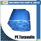 Folha de lonas de PE com tratamento UV para toda a tampa de plástico impermeável de vendas