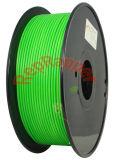 Además de ABS en espiral verde de 3,0 mm de filamento 3D.