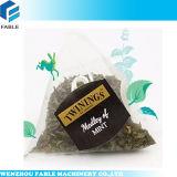 Máquina de llenado y sellado de la bolsa de té de la pirámide / máquina de Vffs para la bolsa de té de la pirámide