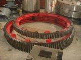 Usine de ciment de l'épi moulin à billes Pignon pour moulin à billes