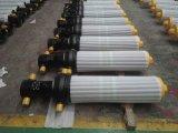 único cilindro ativo de vários estágios do petróleo 3 ou 4 hidráulico para a estação do lixo