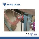 Cristal térmico templado vidrio laminado para ducha puertas ventanas