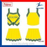 De Healong filles de sublimation de teinture de marque non Cheerleading des uniformes