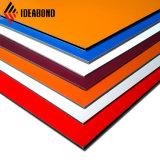 2017 Nuevo diseño de la pared interior de poliéster de revestimiento de lámina de aluminio