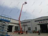 Plataforma elevatória de elevação de reboque hidráulico a diesel aerial