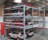 Mutrade автоматизировало систему оборудования подъема головоломки автомобиля механически поднимаясь