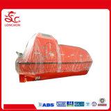 Type totalement inclus approuvé de SOLAS bateau de sauvetage de fibre de verre à vendre