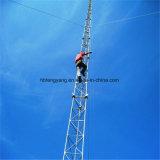 Tour de transmission télescopique en aluminium de haute qualité pôle tour de télécommunications mobiles