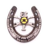 Défi de conception personnelle de l'émail en laiton Coin emblème Euro or fonctionnelle