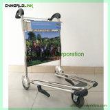 Горячие продажи аэропорта использование багажного отделения передвижного тележки со стороны пассажира