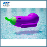 Pool Party를 위한 큰 Back Eggplant Inflatable Float