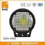 Luz de conducción campo a través de la luz de conducción de 9inch LED 225W LED de 2 años de garantía