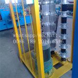 máquina de formação de rolos de aço de cor para o encurvamento e crimpar