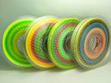 1.75mm Gloeidraad van de Kleur PLA van de Regenboog de Multi voor 3D Druk