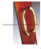 Ventana de aluminio aprobada del Ce del color rojo con la apertura de desplazamiento