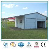 Garage verticale di stile del metallo personalizzato vendita superiore di disegni moderni di formato