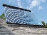 Coletor solar pressurizado de tubulação de calor para aquecedor solar de água