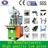 Máquina plástica vertical manual pequena da modelação por injeção 30 toneladas