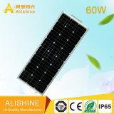 60W Solarstraßenlaternedes Garten-LED mit der guten Qualität Fernsteuerungs