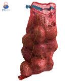 Hete Verkoop 50*80cm de Rode Zak van het Netwerk voor de Verpakking van Uien en Aardappels