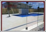 glace Tempered claire de 8/10/12mm pour la frontière de sécurité de piscine