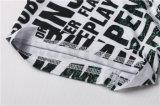 Износ спортов печатание письма краткостей колготков обжатия для людей (AKNK-1015)