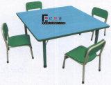 子供(SF-17K-5)のための4-Seaters赤いプラスチック表そして椅子