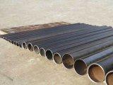 ERW geschweißtes Fluss-Stahl-rundes Rohr für Aufbau