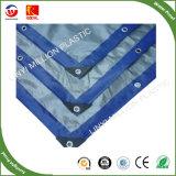 Couleur blanc/bleu PE de bâches en tissu à usage intensif