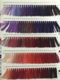 Varia cuerda de rosca 100% del bordado del poliester de la cuerda de rosca de la materia textil del uso de la tela del color