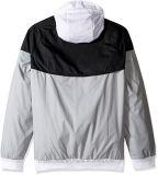 Mens Windrunner 두건이 있는 궤도 재킷