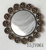 Het Frame van de Spiegel van Jeweled van het Metaal van de Kunst van de Muur van de Decoratie van het huis